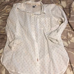 Old Navy Anchor Button Up